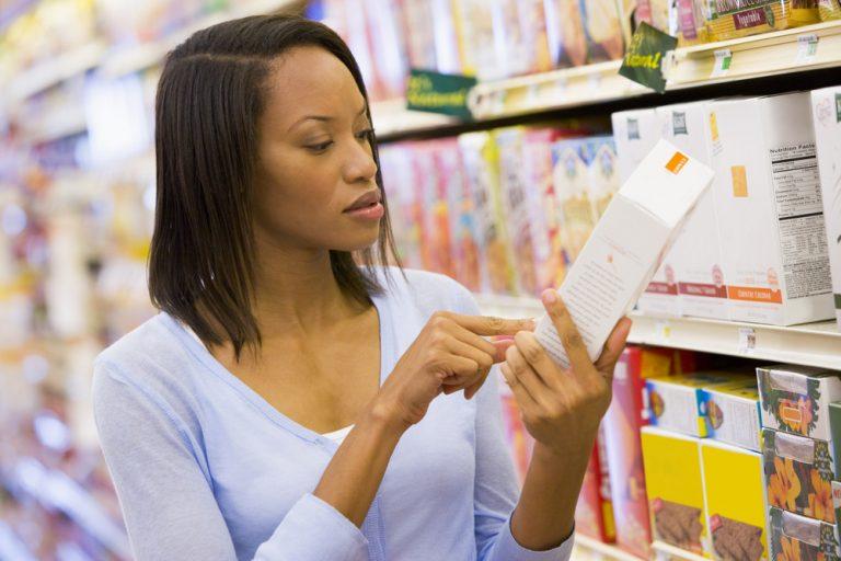 checking ingredients