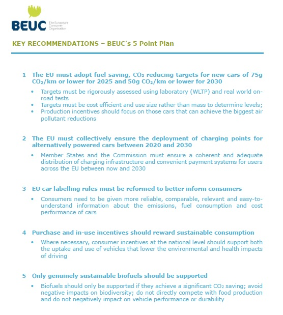 Making-clean-cars-for-consumers-BEUC-5-point-plan