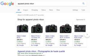 Google.be & Kelkoo comparison