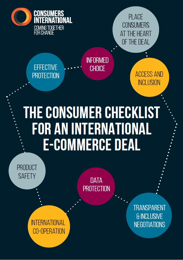 Consumers International checklist on promoting consumer trust in online shopping