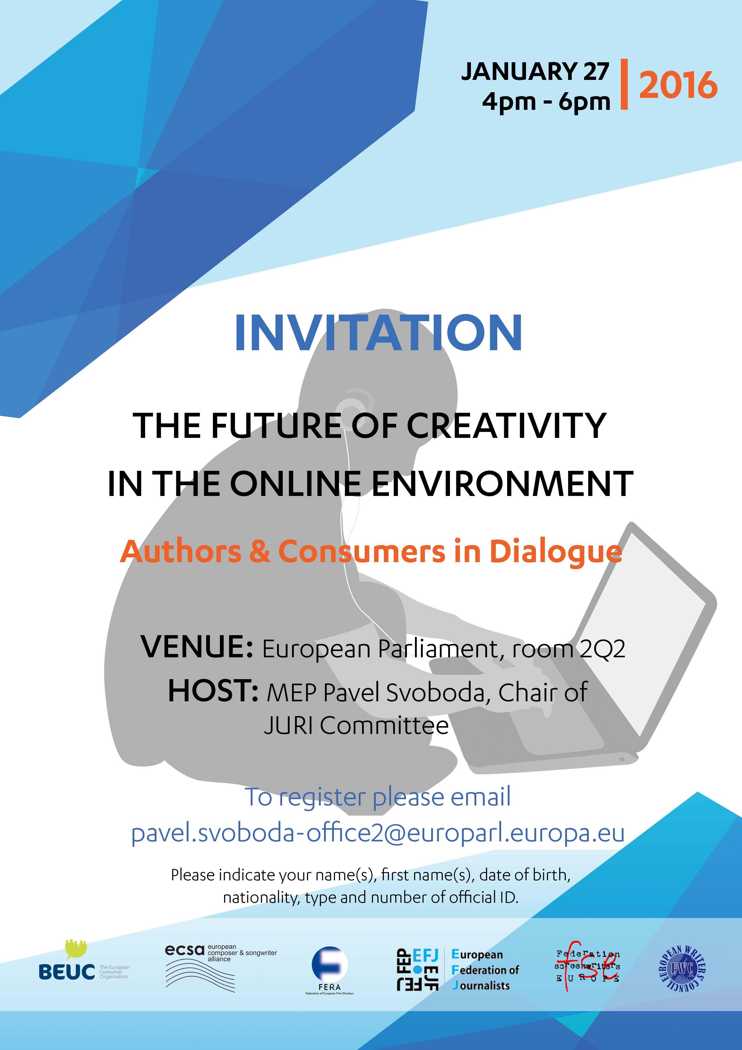 Register to BEUC event on EU copyright reform | www.beuc.eu
