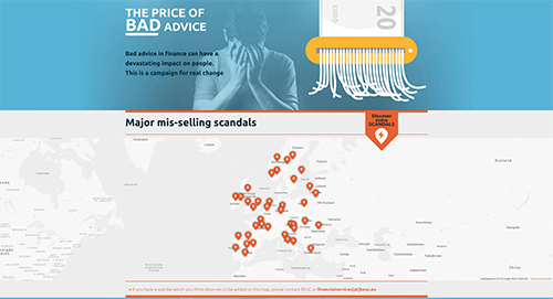 The Price of Bad Advice launches | www beuc eu