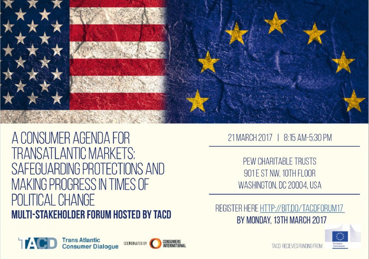 Consumers In Transatlantic Markets How To Ensure There Are Trade